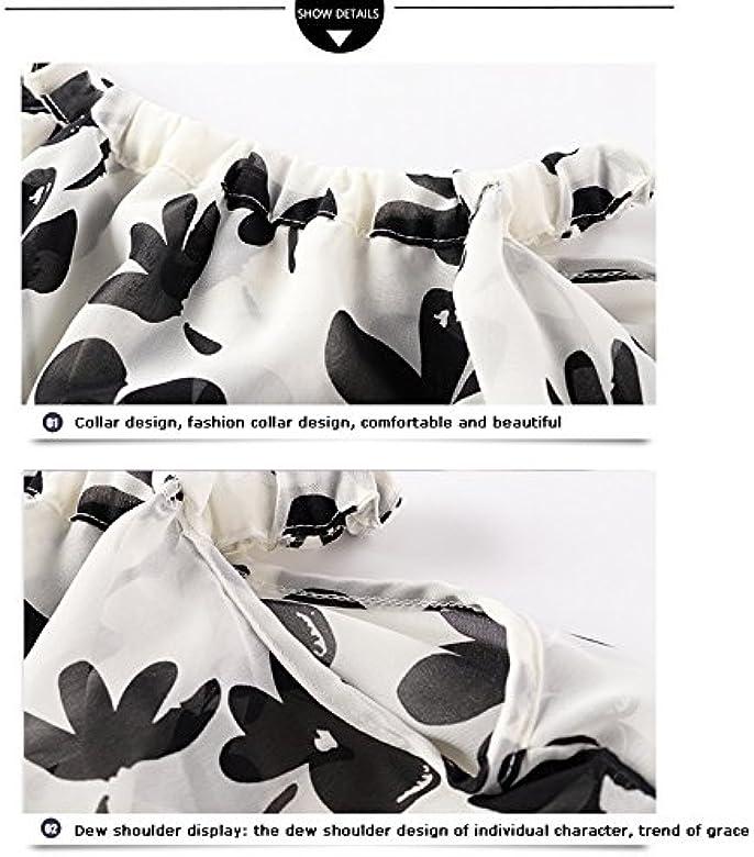 b602fe4f3b1eb QIAONAI 花柄 シフォン 親子ワンピース 女の子 ガールズ レディース ワンピース 親子服 子供ドレス キッズ 夏