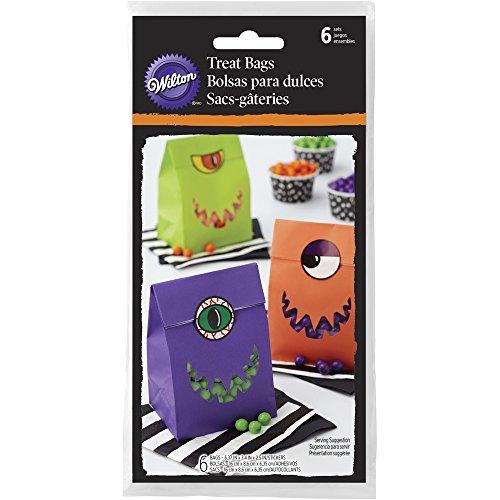 Wilton Monster Halloween Treat Bags -