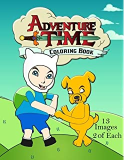 adventure time coloring book - Adventure Time Coloring Book