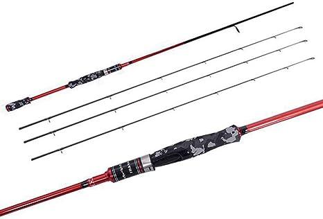 H.Y.BBYH Caña de Pescar Spinning Carp Fishing Rod Ultralight Fly ...