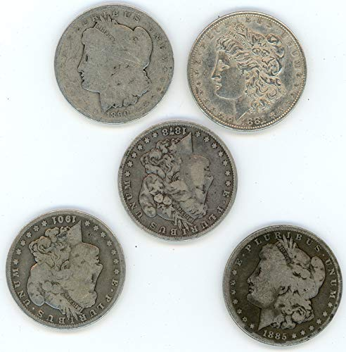 1878-1921 Morgan Silver Dollar Culls (Mixed Dates and Mint Marks) $1 Cull