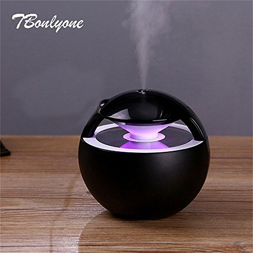 Ayat Inc 450ML Ball Humidifier with Aroma Lamp Essential Oil Ultrasonic Electric Diffuser Mini USB Air Fogger by Ayat Inc