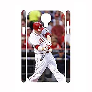 Advanced Dustpoof Hipster Baseball Player Action Phone Skin for Samsung Galaxy S4 I9500 Case