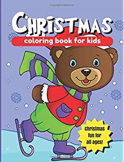 christmas coloring book for kids large christmas coloring pages 85 x 11 in