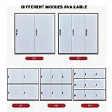 9 Door Metal Locker, Office Cabinet Locker,Living
