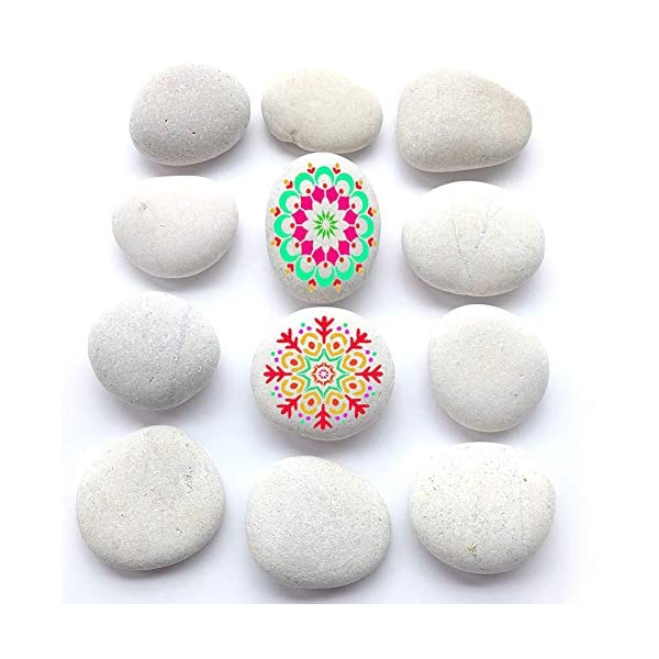 BigOtters-Painting-Rocks-12-Rocks-2-3-inches-Painting-Kindness-Rocks-Mandala-Painting-Favors-About-37-pounds