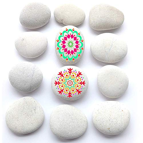 - BigOtters Painting Rocks, 12 Rocks for Painting Kindness Rocks Range from About 2 to 3 inches, About 3.7 pounds of Rocks