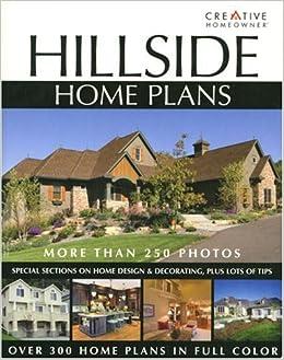 Hillside home plans editors of creative homeowner for Home plans for hillside lots