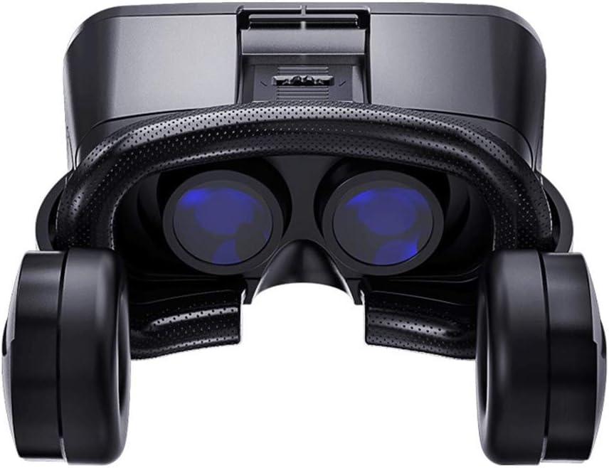 Forart VR-Headset 3D-VR-Brille Universelle Virtual-Reality-Headsets mit Headset-Controller kompatibel mit Mobiltelefonen
