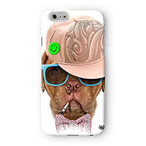 Dog with Cap 03 Full Wrap High Quality 3D Printed Case for Apple? iPhone 6 by Gangtoyz + FREE Crystal Clear Screen Protector