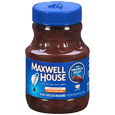 Maxwell House Original Blend Instant Coffee, Medium Roast, 8 Ounce Jar from KraftHeinz