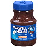 Maxwell House Original Blend Instant Coffee, Medium Roast, 8 Ounce Jar (Pack of 3)
