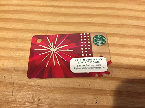 Starbucks Coffee Advent Mini Card 2014 Christmas Limited Edition