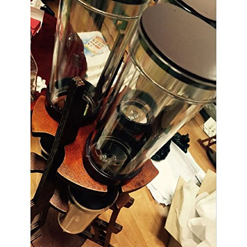 Dutch Q Cold Brew Coffee Iced Coffee Maker Wooden Eiffel Tower Home Hand Drip Dutch Machine &PDF English File on How to assenble& Free Gift (Key Ring) by Dutch Q (Image #2)