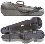 Bam France 2002XL Contoured Hightech Black Lazure 4/4 Violin Case
