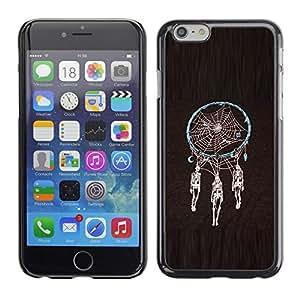 """For Iphone 6/6S (4.7 INCH) Case , Colector ideal Esqueleto Negro Araña"""" - Diseño Patrón Teléfono Caso Cubierta Case Bumper Duro Protección Case Cover Funda"""