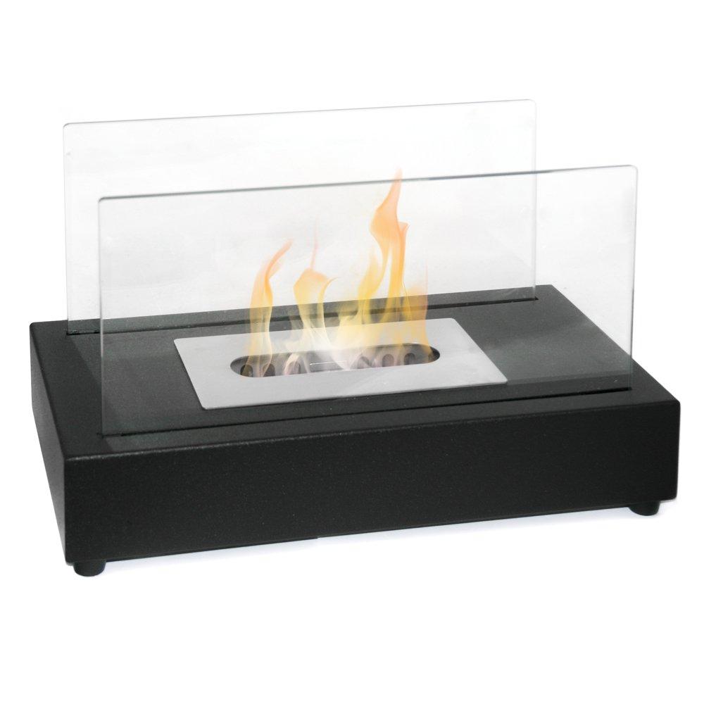Biocamino bioetanolo design moderno riscaldamento esterno interno tavolo BERLINO Divina fire