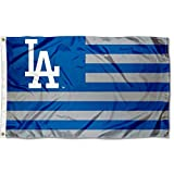 WinCraft MLB Los Angeles Dodgers Nation Flag 3x5 Banner