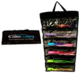 Lobo Lures 6 Pocket Big Game Trolling Lures Roll-up Storage Tackle Bag
