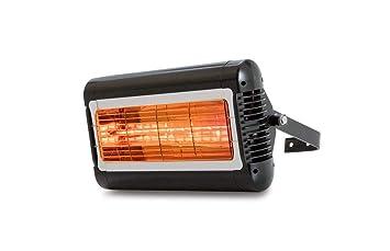 Calefactor - Estufa de Infrarrojos - Modelo Sorrento IP (Negro): Amazon.es: Jardín