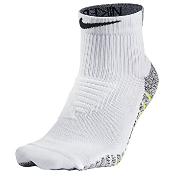 Nike M Ng LTWT Mid Calcetines, Hombre, Blanco (White/Volt / Black