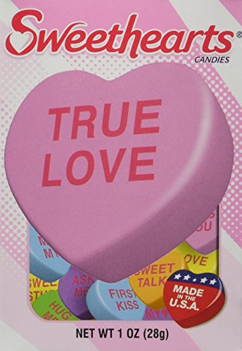 Sweethearts Conversation Candy, 4- 1oz Boxes