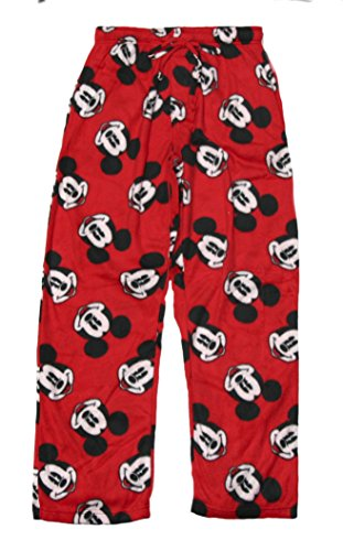 Men's Mickey Mouse Fleece Sleep Pant (Mens Disney Pajamas)