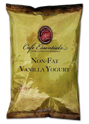 Cafe Essentials Non-Fat Vanilla Yogurt Beverage Mix, 3.5-Pound Bag