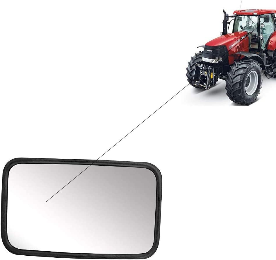 255X 160 Mm Wing Mirror Set for Truck Bus Caravan Tractor Excavator,Agricultural 1X Universal Rear View Mirrors Digger