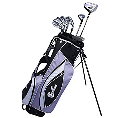 Confidence Golf LADY POWER Hybrid Club Set & Stand Bag