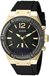 GUESS Women's C0002M3 GUESS CONNECT Chic Fashionable Black Smartwatch Where Fashion Meets Lifestyle Functionality