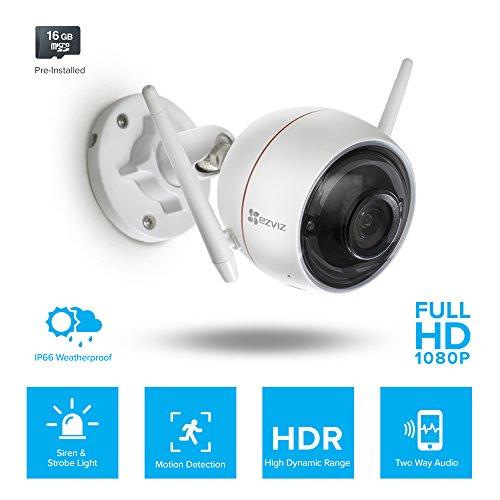 Ezviz C3w Ezguard Wireless Wi Fi Security Camera With