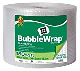 Cheap Original 3/16 inch Bubble Wrap Cushioning, 12 in. x 150 ft, Clear (150 FT Bubble Wrap)