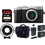 Panasonic LUMIX DMC-GX8KBODY Mirrorless 4K Camera, D.I. Stabilization (Black)
