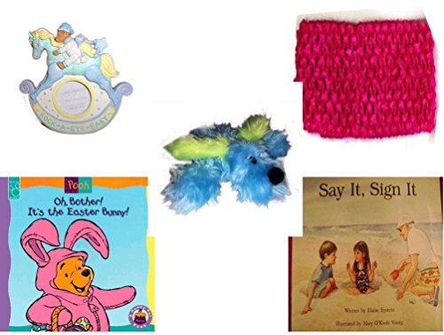Children's Gift Bundle - Ages 0-2 [5 Piece] Includes: Rock-A-Bye-Baby - Rocking Horse Photo Frame 3