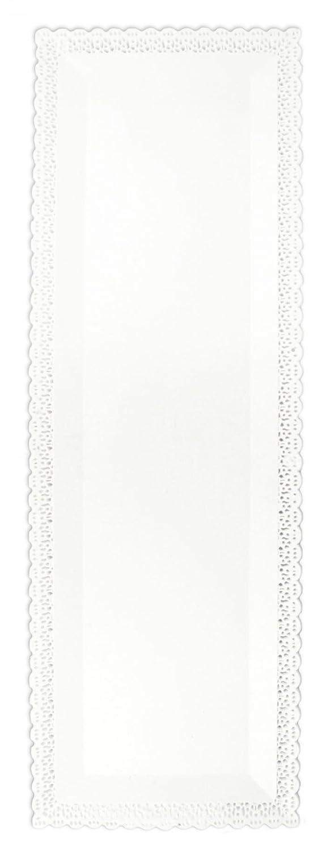 ScrapCooking Rectangular Cake Plate, White 5227