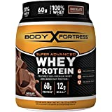 Body Fortress Super Advanced Whey Protein Powder, Great for Meal Replacement Shakes, Low Carb, Gluten Free, Chocolate, 2 lbs