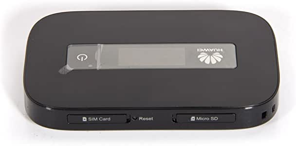 Huawei E5756 43.2 Mpbs 3G Mobile WiFi (3G globally) (black)