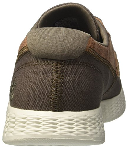 High da The Uomo Barca Seas Go On Khaki Glide Verde Skechers Scarpe Iagwqp0