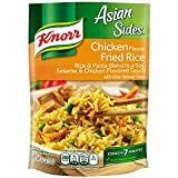 Treat your taste buds with Knorr Asian Sides Chicken Fried Rice (5.7oz). Our rice & pasta blend expertly combines sesame and soy with our chicken-flavored sauce. Our deliciously seasoned Asian Sides are great as part of a delicious main d...