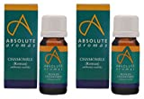 (2 Pack) – Absolute Aromas – Chamomile Roman Oil | 5ml | 2 PACK BUNDLE