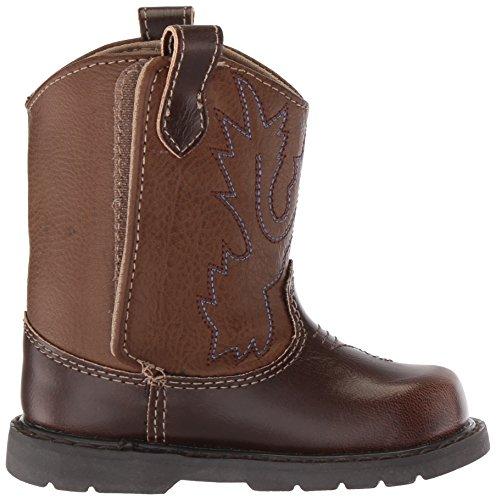 Pictures of Baby Deer Baby 006911R Western Boot Brown Brown 3 Medium US Toddler 3