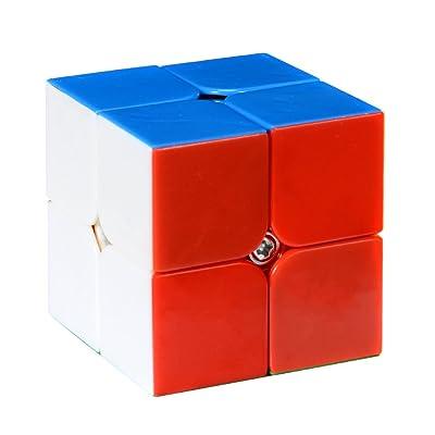 QiYi 2x2 2x2x2 Stickerless Speed Cube Puzzle: Juguetes y juegos