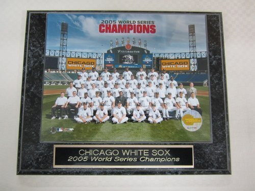 Champions Series Collectors World - 2005 White Sox World Series Champions Collector Plaque w/8x10 Team Photo!