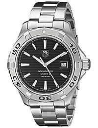 Tag Heuer Men's Aquaracer Calibre 5 Automatic Dial Watch Black WAP2010.BA0830