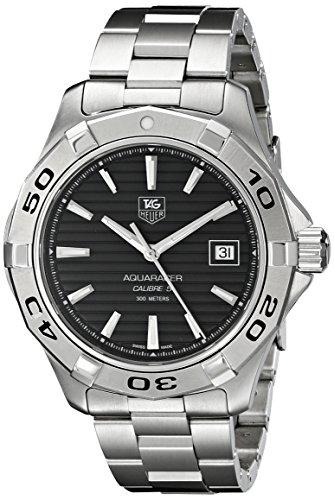 TAG Heuer Men's WAP2010.BA0830 Aquaracer Calibre 5 Automatic Black Dial Watch