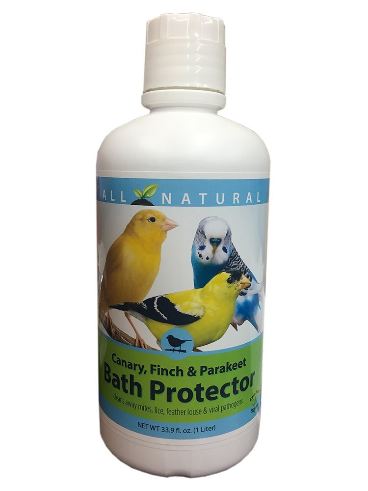 33.9 oz Care Free Enzymes Canary, Finch & Parakeet Bath Protector 94004 CareFree Enzymes Inc.