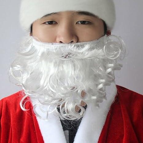 Navidad Suministros barba de Papá Noel: Amazon.es: Hogar