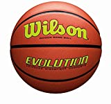 Wilson Evolution Game Basketball, Yellow, Official Size - 29.5""