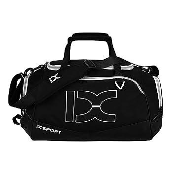 Sorport 40L Dry Wet Gym Bags For Fitness Travel Shoulder Bag Handbag black  white 5a2b826a73